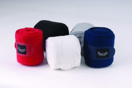 Fleece stable/travel bandages